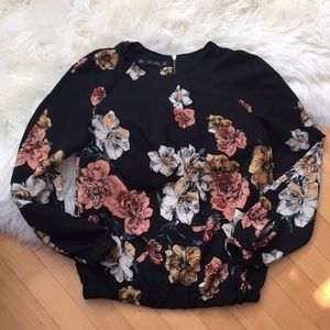 Zara Basics Collection - Floral Blouse